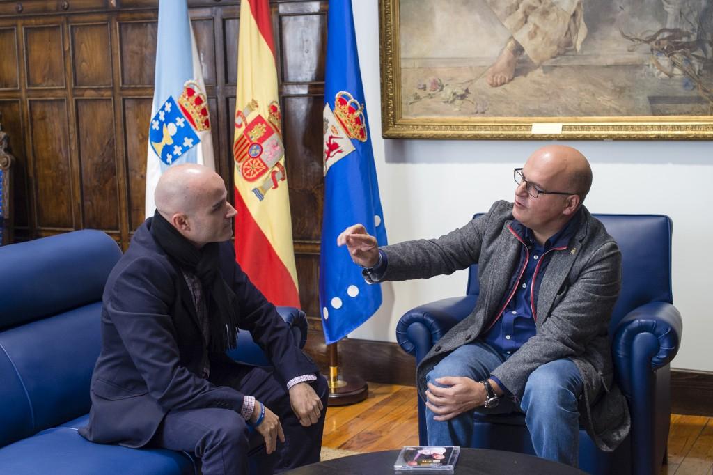 Víctor Prieto e Manuel Baltar