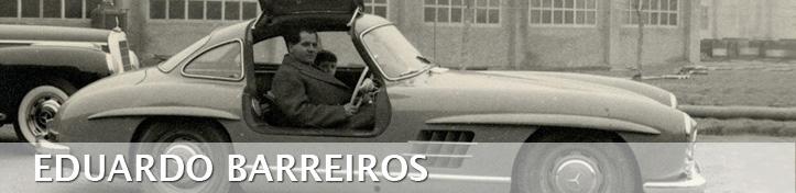 Alfonso Barreiros, pai da premiada MariLuz Barreiros nunha foto de época