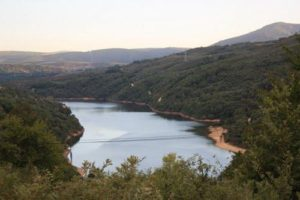 Embalse do Bao cerca de Viana