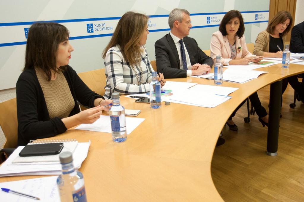 Reunión de ayer sobre los GES  Autor: Ana Varela