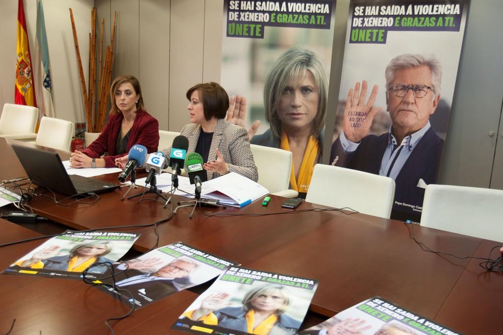 La secretaria general de la Igualdad, Susana López Abella, presentó hoy la campaña institucional de la Xunta para el 25 de noviembre, La dice Internacional para Eliminación de la Violencia de Género