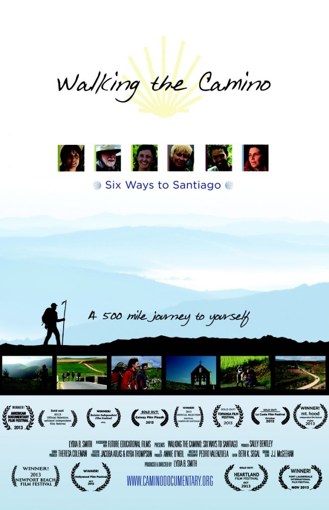 Cartel de Walking the Camino