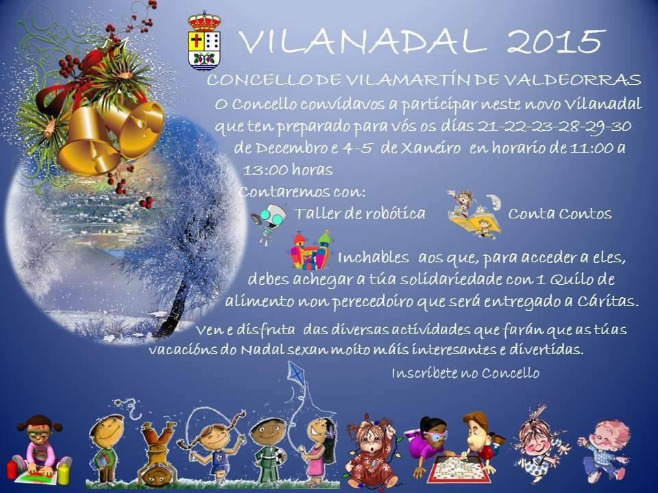 Cartel 'Vilanadal 2015'