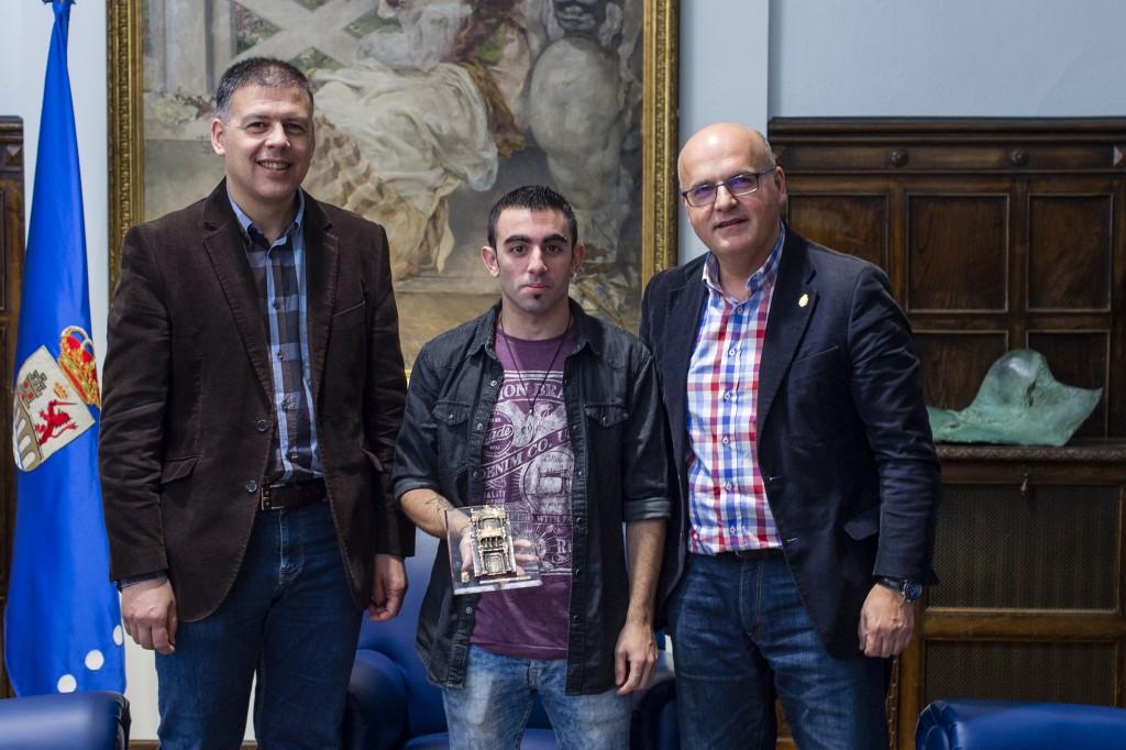 Bernardino González, Daniel Pérez e Manuel Baltar