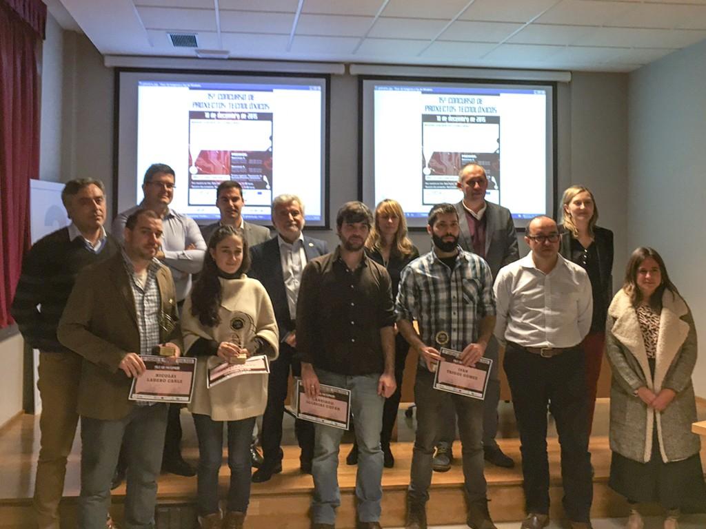 Entrega dos premios do 15º Concurso de Proxectos Tecnolóxicos