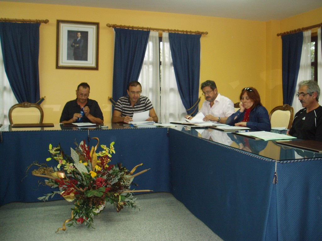 Grupo de gobierno de Vilamartín
