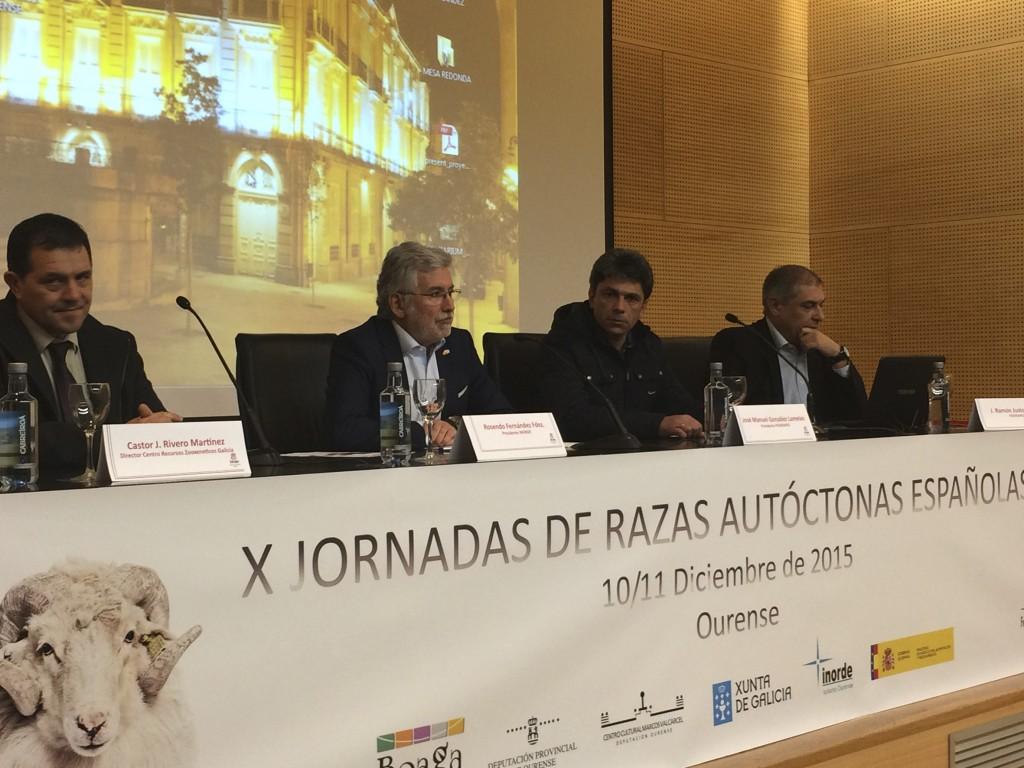 Inauguración das X Xornadas de Razas Autóctonas Españolas
