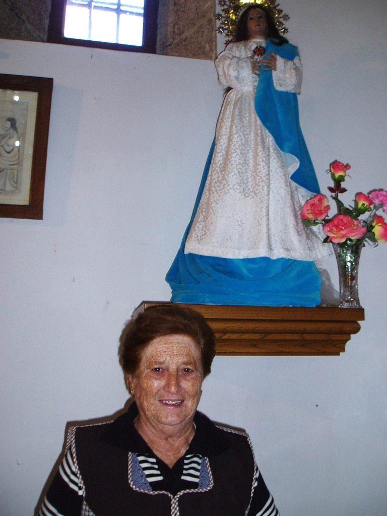 Olga Blanco Estévez, vecina de roblido A Rúa de Valdeorras