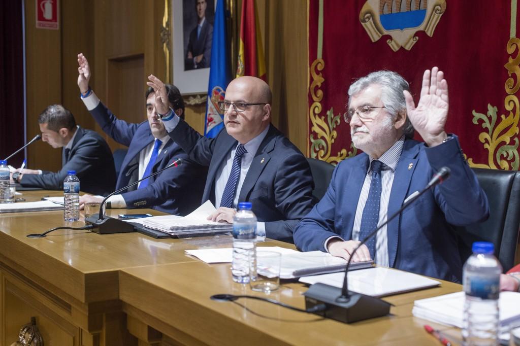 Pleno da Deputación de Ourense. Decembro 2015