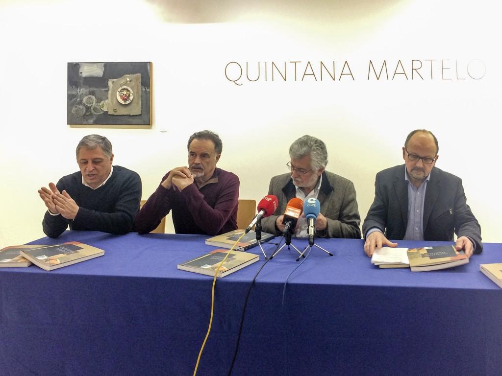 Presentación da exposición e do catálogo de Manuel Quintana Martelo