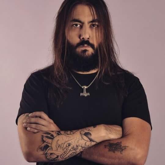 Rober Fernández, portavoz de la organización de la fiesta y miembro de dos grupos de rock