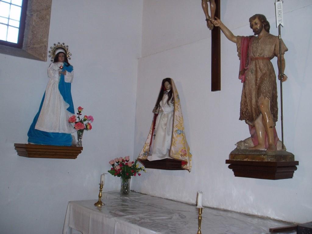 Tallas religiosas de la Iglesia de Roblido, entre ellas la Inmaculada