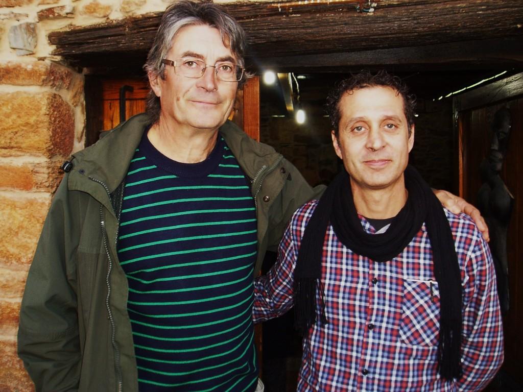 Torino y Conde, creadores de la sala y la exposición