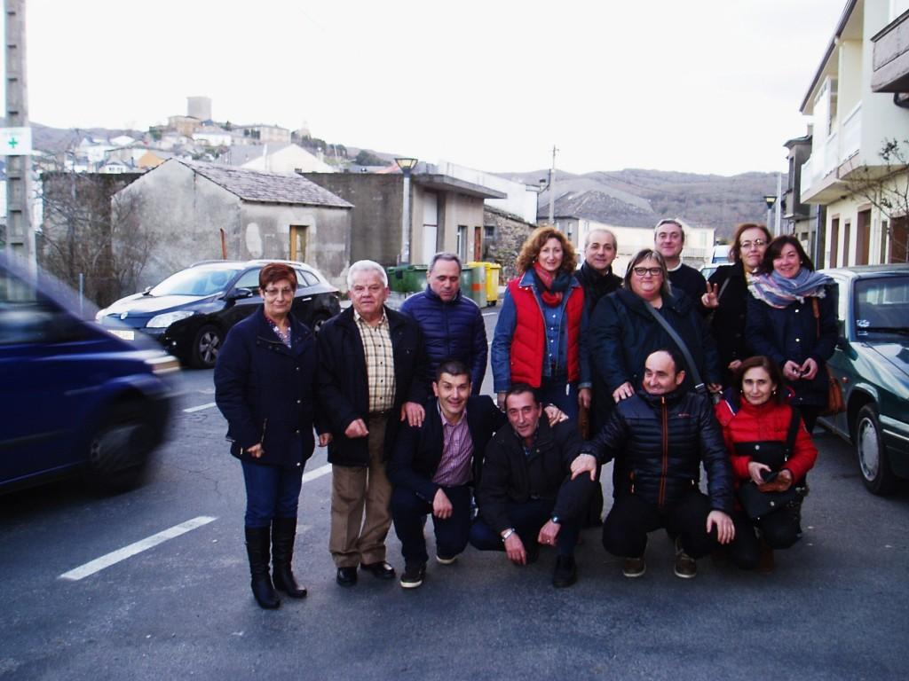 Trabajadores de Correos de A Rúa, Viana, Castro Caldelas y Monforte en O Bolo