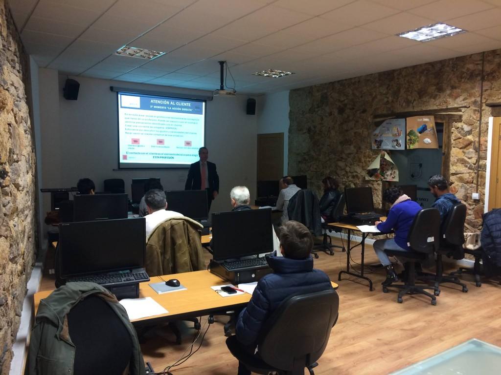 Uno de los cursos impartidos en noviembre por el Centro Superior de Hostelería de Galicia