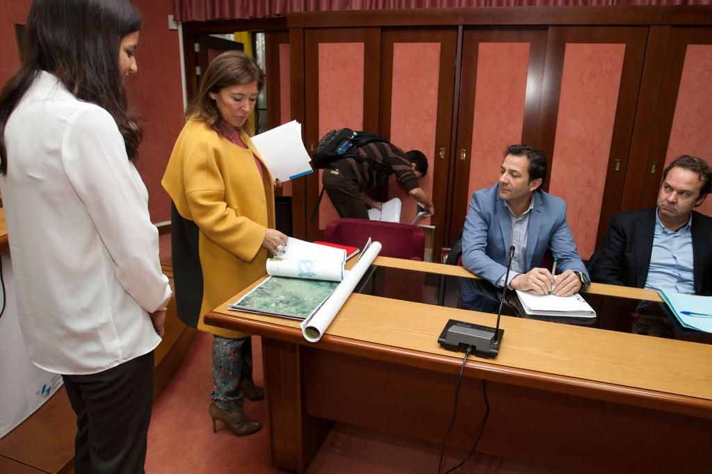 La conselleira de Medio Ambiente destaca que este documento forma parte del Atlas de los Paisajes de Galicia  Autor: Ana Varela