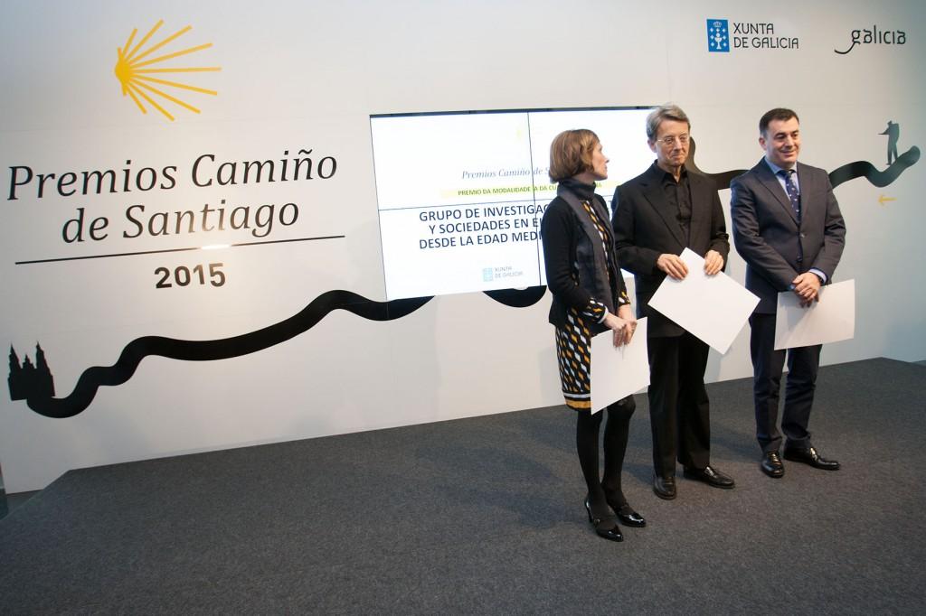 Los galardones fueron entregados esta mañana por el conselleiro de Cultura, Educación y Ordenación Universitaria y la directora de Turismo de Galicia en un acto celebrado en la Cidade da Cultura  Autor: Ana Varela