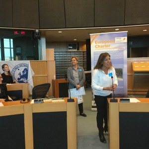 Beatriz Mato recibe la Carta Europea de Turismo Sostenible (CETS)