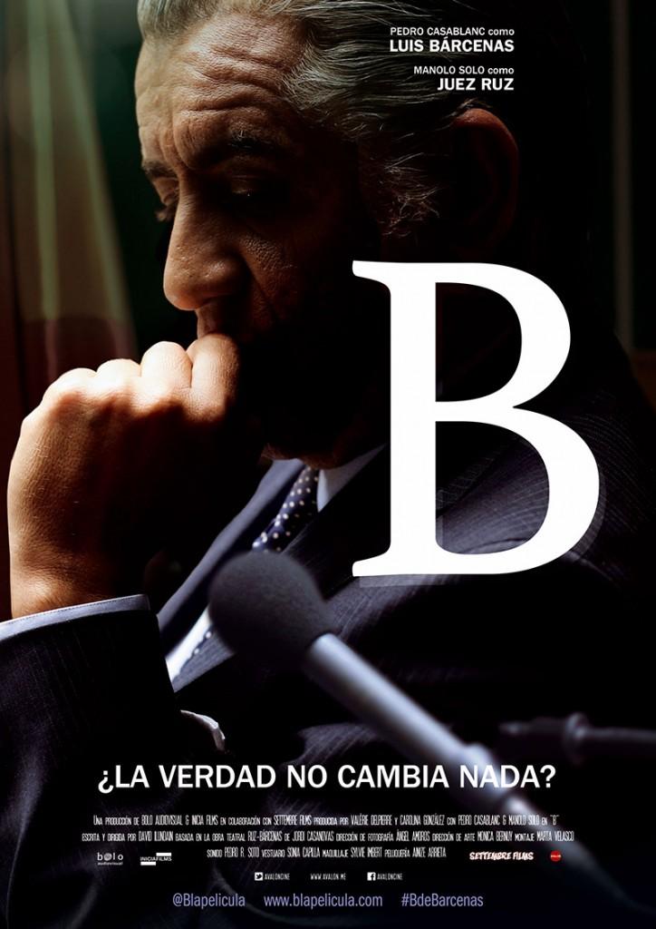 Cartel de B La película de Barcena