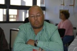 José Paradelo Arias, portavoz de UGT en Valdeorras