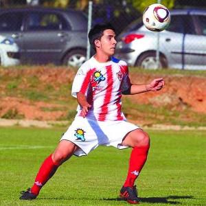 David Álvarez en su etapa como jugador del Bembibre. petancaleón.com
