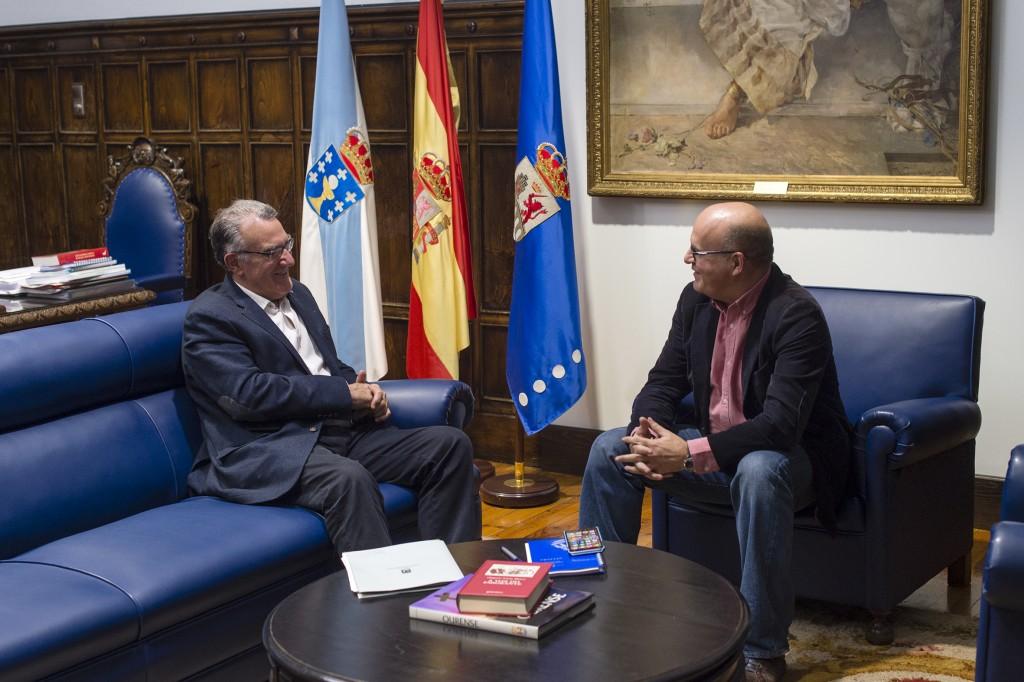 Alfredo García e Manuel Baltar