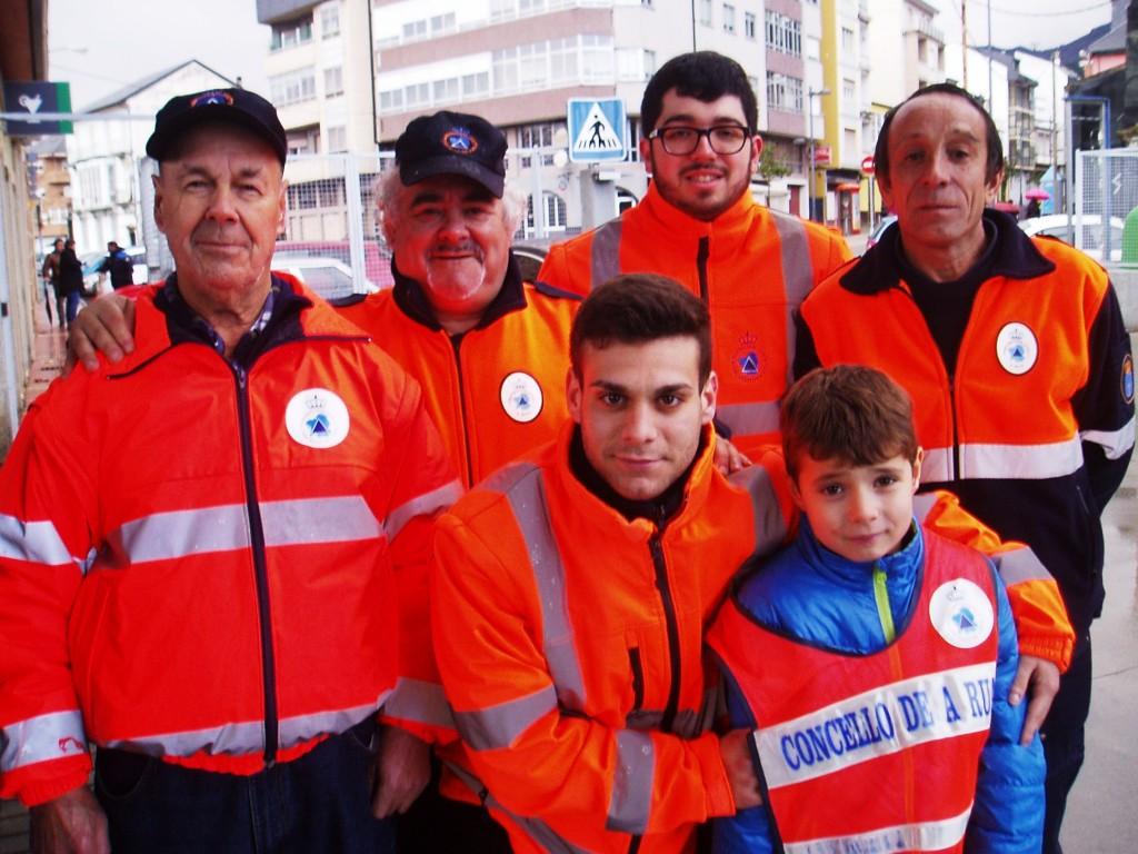 Amadeo Dosantos ,David López Nogueira,Brais López Batista y Miguel Ángel Yáñez Contreras, entre otros