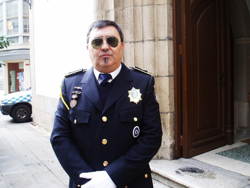 Arturo Rebollar, jefe de la Policía Local de O Barco
