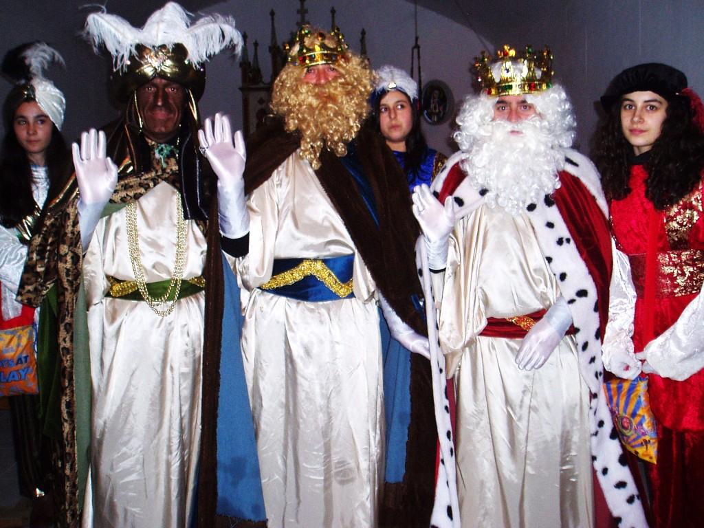 Baltasar, Gaspar y Melchor en la capilla de San Roque