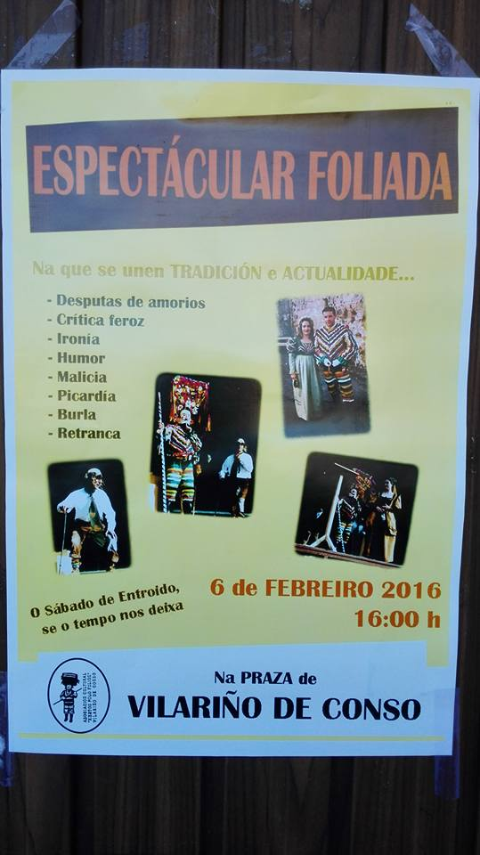 Cartel Foliada