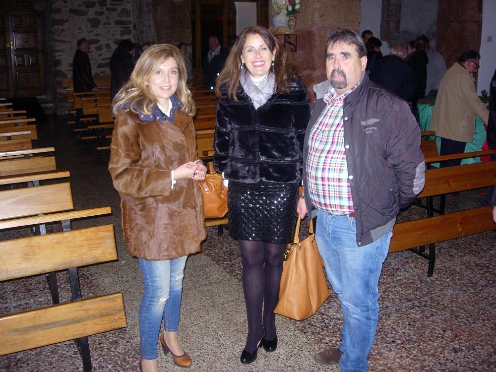 Concejala de Cultura y Educación, Presidenta de la Asociación y Concejal de Medio Rural