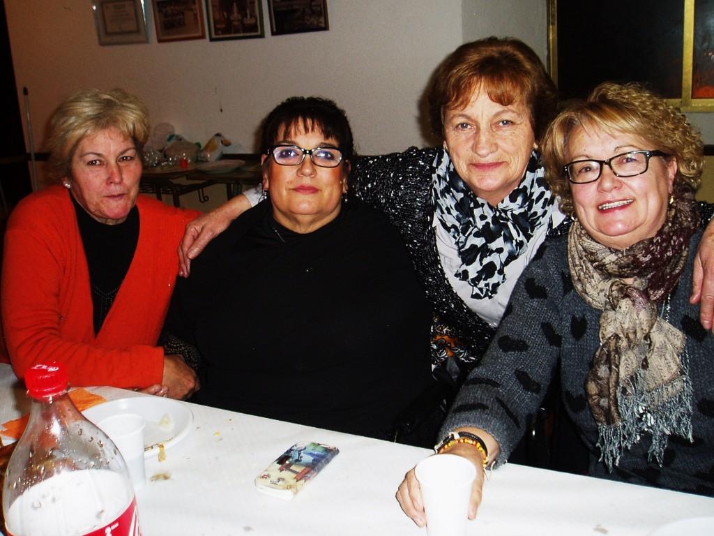 Cuatro integrantes de A Ruada