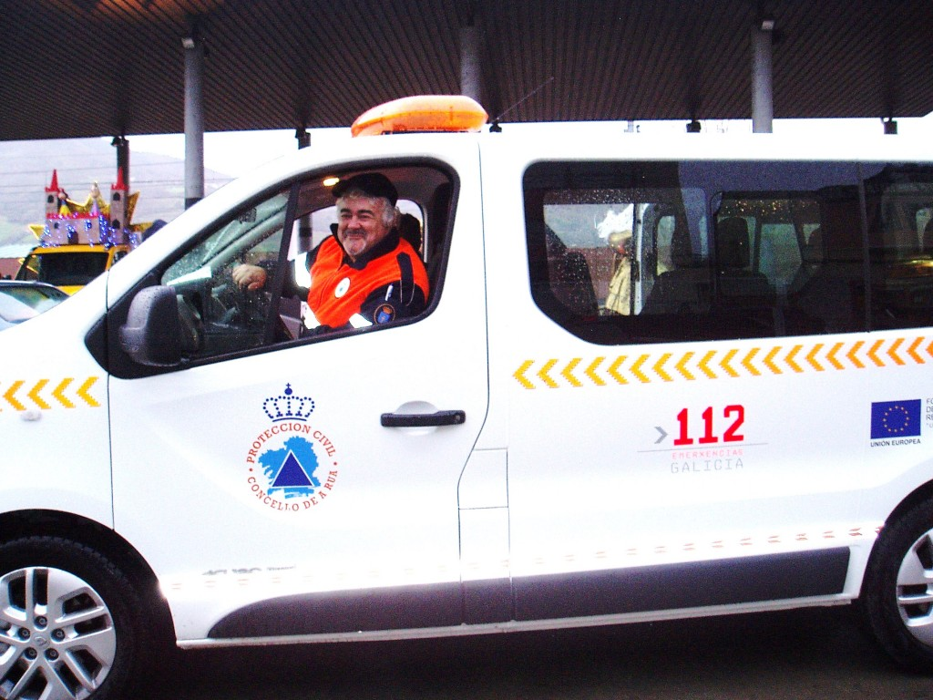 David López Nogueira, uno de los más veteranos en la agrupación de Protección Civil