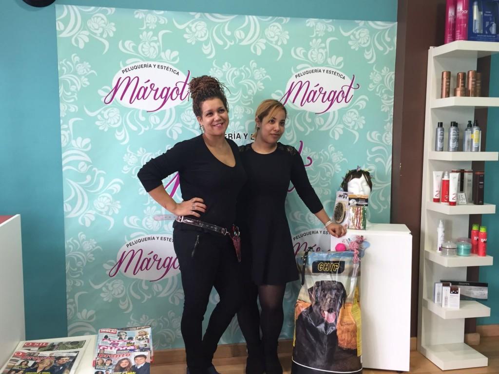 La peluquería Margot también colaboró