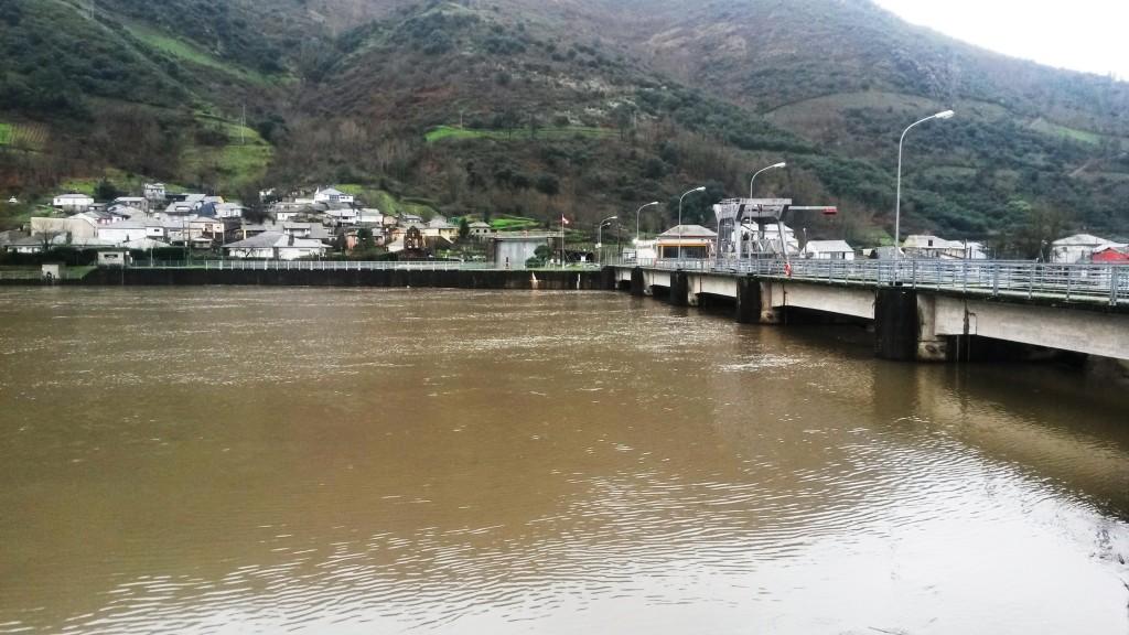 La presa de Valencia do Sil (Vilamartín)