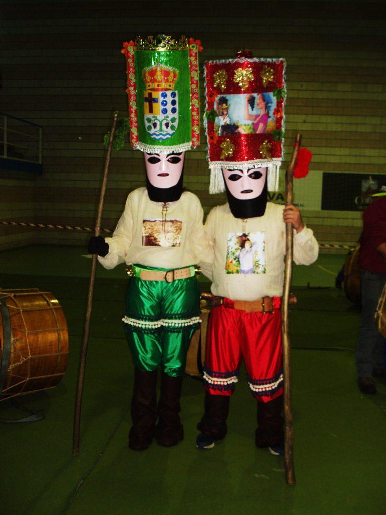 Los dos personajes que identifican el Folión de Vilamartín