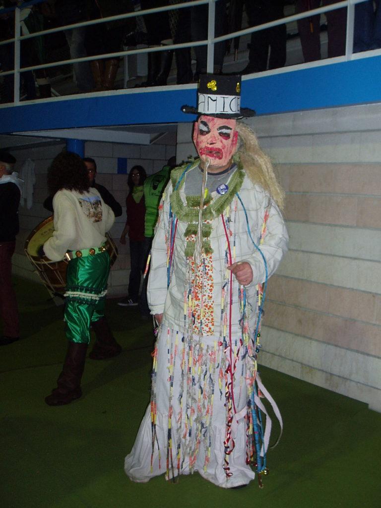 Máscara que identifica al Folión de Trives