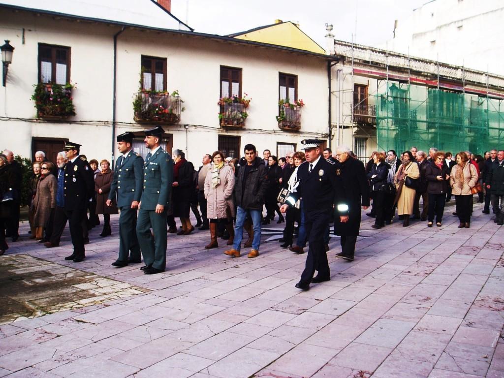 Momento de la procesión
