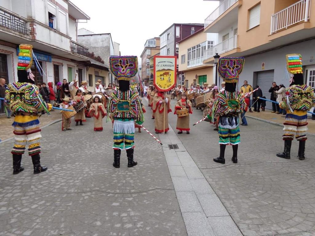 Os Labregos de Trives organiza el desfile
