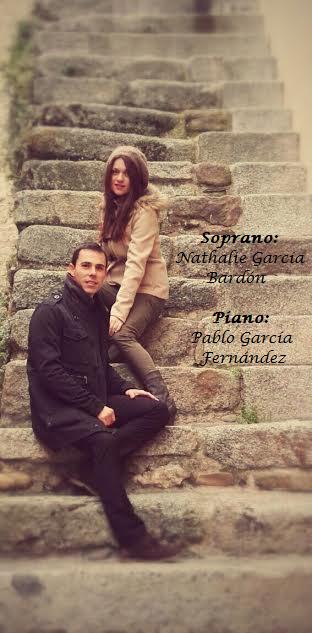 Nathalie G. Bardón y Pablo García Fernández