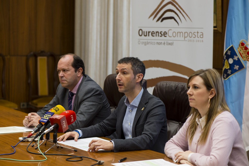 """Presentación da campaña de compostaxe """"Ourense Composta"""""""