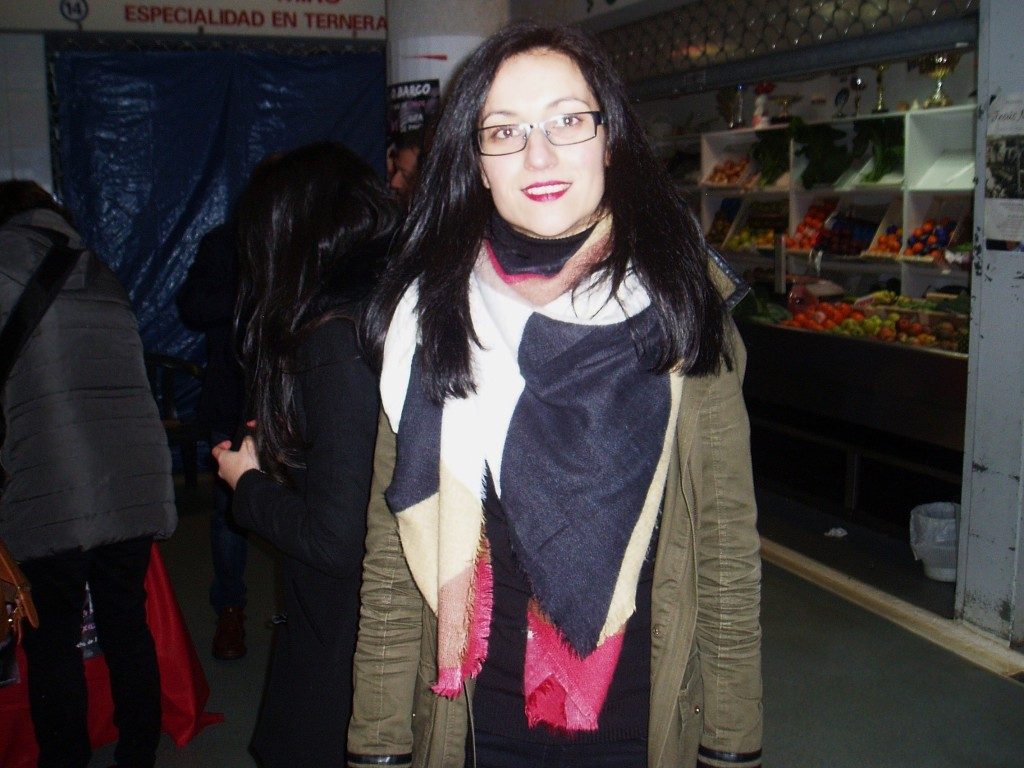 Sandra Moldes Rodríguez, presidenta del Centro Comercial Aberto de O Barco