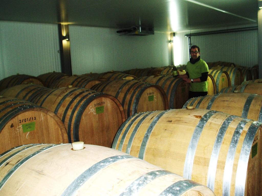 Una de las claves para hacer buen vino dice que son las barricas