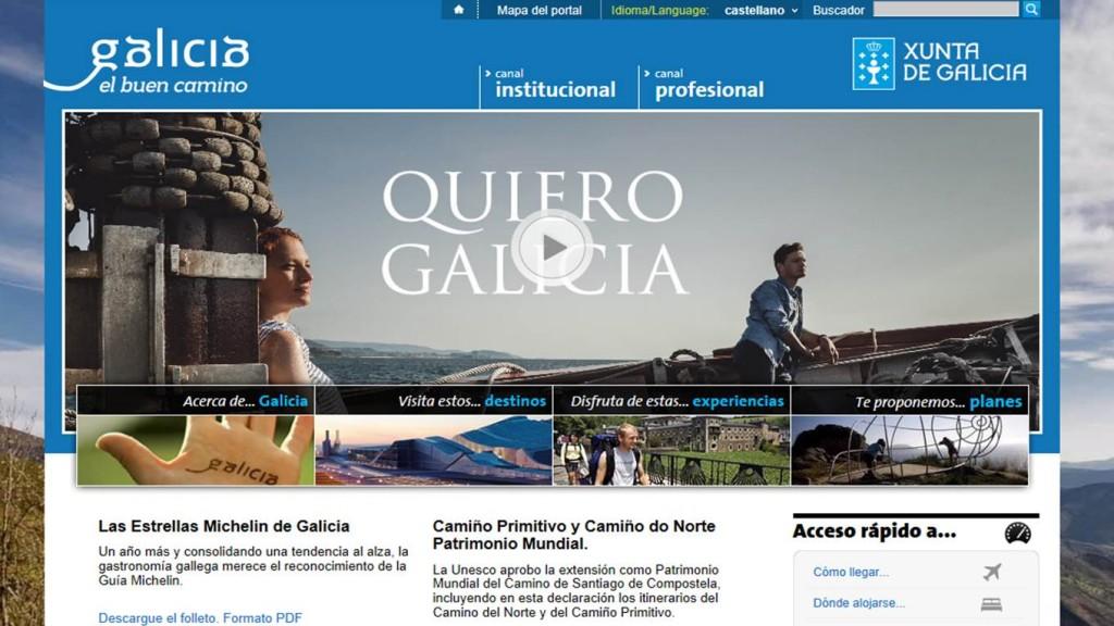 El portal de información y promoción turística de la Xunta incrementó su número de usuarios en cerca de un 22% en el último año