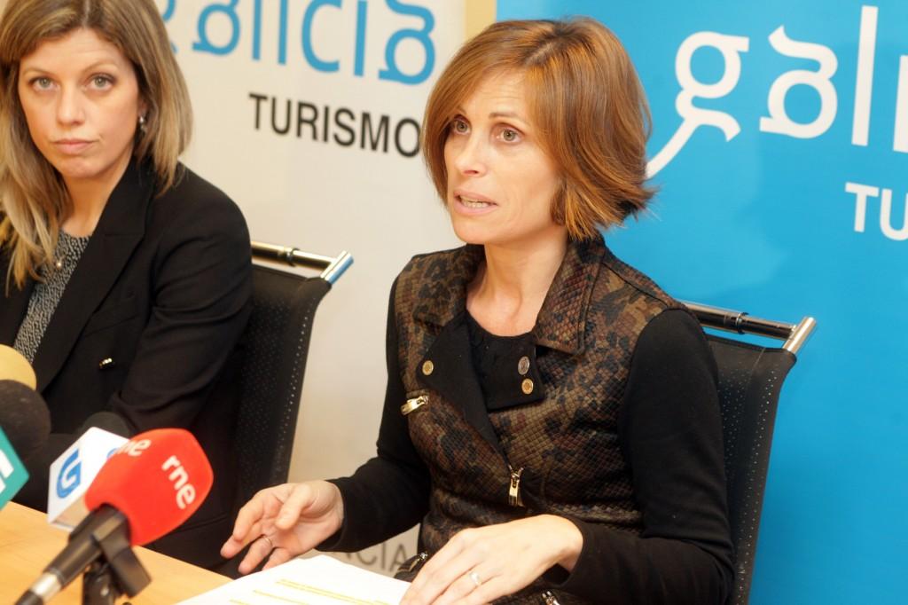 La directora de Turismo de Galicia comunicó hoy en rueda de prensa que el *stand de Galicia en Fitur registró un máximo histórico de afluencia al recibir más de 74.000 visitantes  Autora: Conchi Paz
