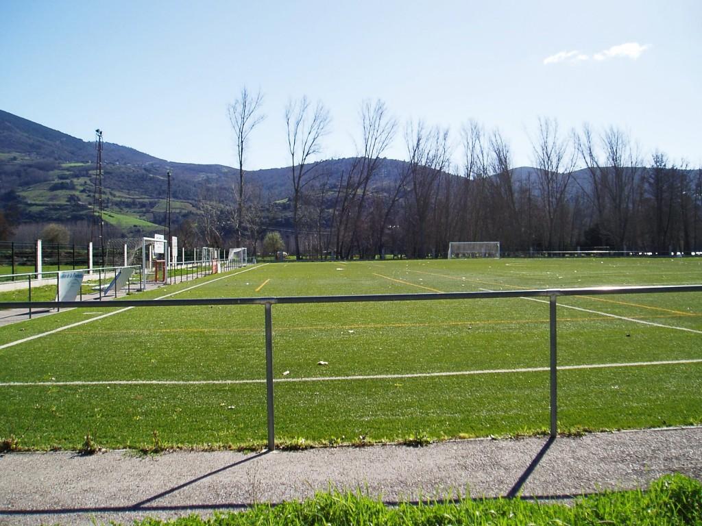 Campo de hierba artificial
