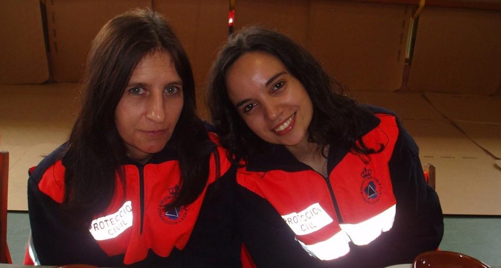 Chicas de Protección Civil