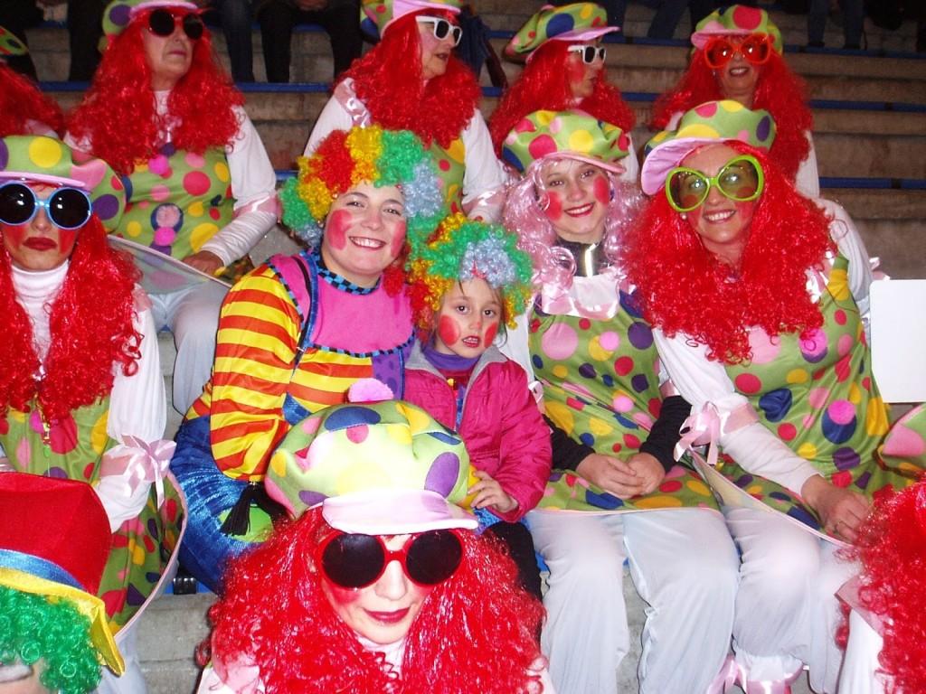 Comparsa desfile Entroido carnaval A Rúa