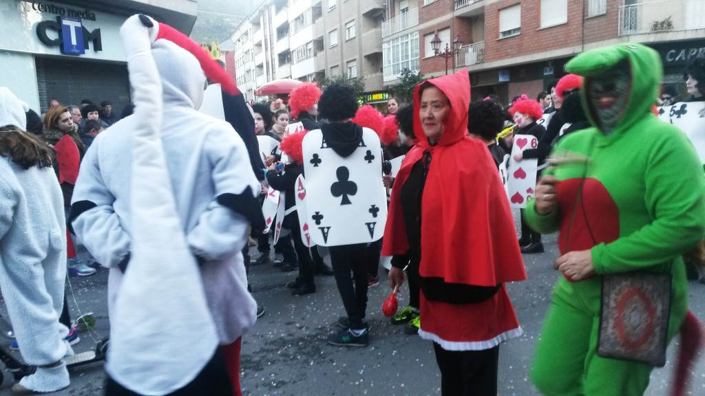Desfile en 2015 del martes de Entroido en O Barco