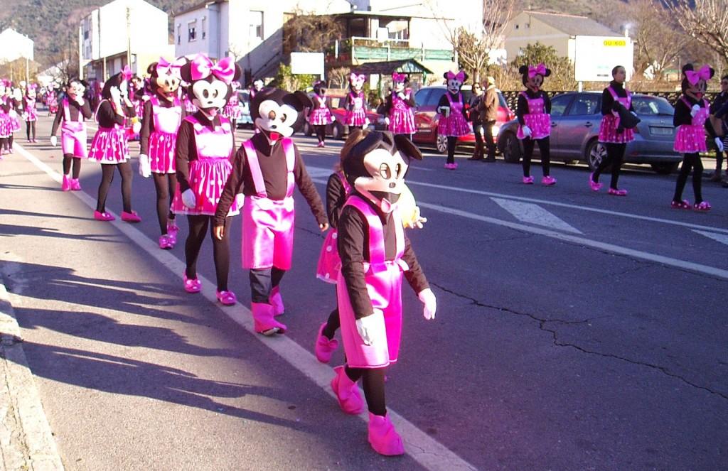 Desfile en A Rúa en la edición 2015